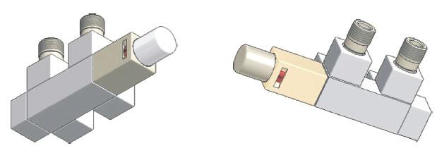 Узлы термостатические серии Duo-Plex Square