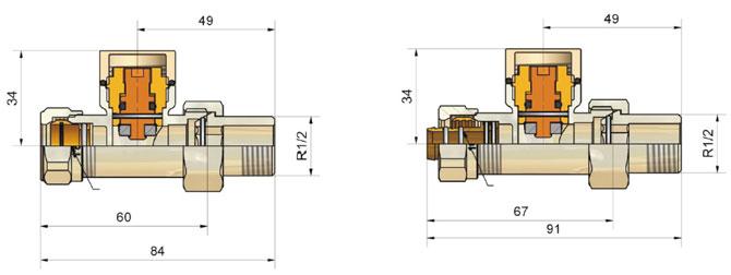 Комплекты клапанов ELEGANT