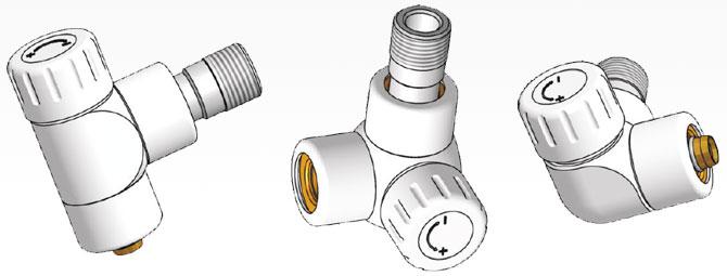 Клапаны термостатические LUX